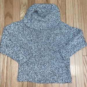 INC Cowl Neck Sparkly Sweater